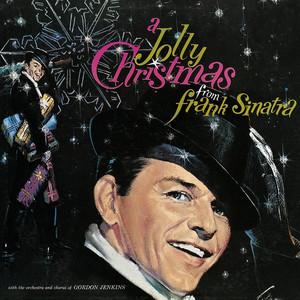 Omslaget till julskivan A Jolly Christmas From Frank Sinatra av Frank Sinatra.