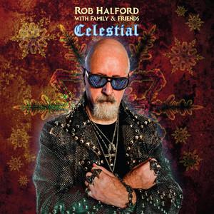 Omslaget till julskivan Celestial av Rob Halford, Halford.