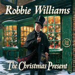 Omslaget till julskivan The Christmas Present (Deluxe) av Robbie Williams.
